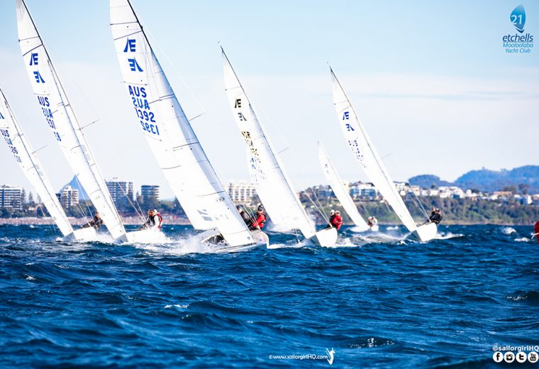 Ciao to Day 1 of the Etchells Australian Nationals