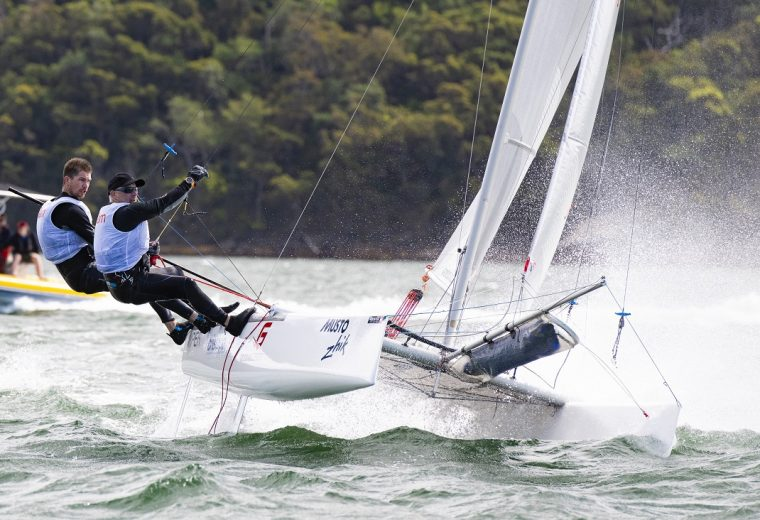 Record tumbles as cool cats and tris join in for Airlie Beach Race Week