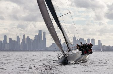 ORCV Winter Series sees Rush to the line in light winds