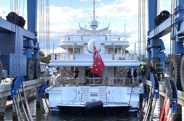 Gold Coast City Marina & Shipyard Boosts Superyacht Lifting Capacity