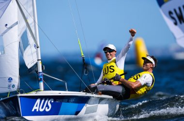 Rivers of Gold – Belcher and Ryan crowned Men's 470 Olympic Champions