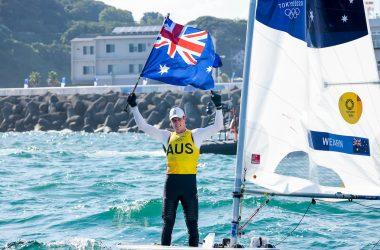 Australia's Matt Wearn wins Laser Gold at Tokyo Olympics