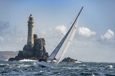 Competition for overall victory in the Rolex Fastnet Race is heating up