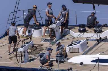 Maxi Yacht Rolex Cup – a day for the tacticians