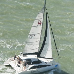 Salacia reefed down but still flying - Scott Radford-Chisholm pic - SMIRW