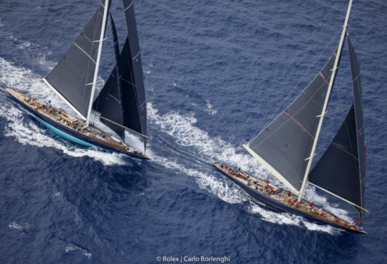 Day four of racing at the 31st Maxi Yacht Rolex Cup