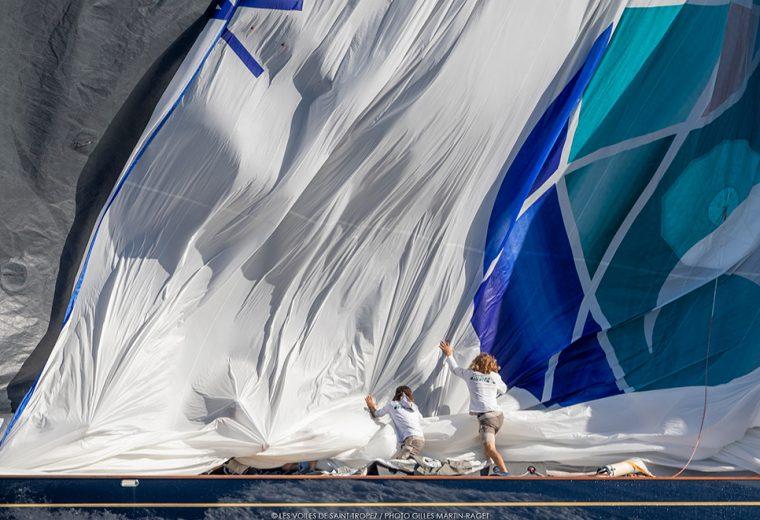 Rambler 88 takes the lead at Les Voiles de Saint-Tropez