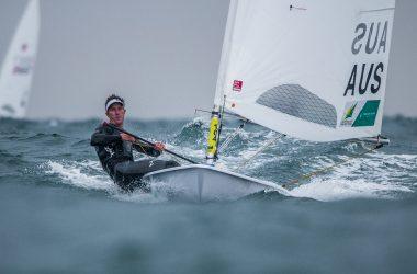 Australian sailors savour wind and waves despite long delays