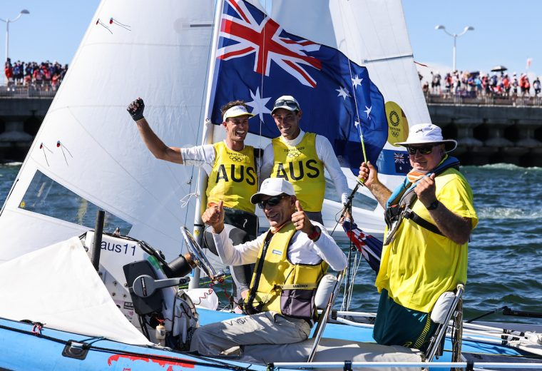 Australian Sailing celebrates Iain Murray