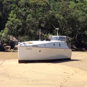 Ultra-light, comfortable live aboard 2012 river cruiser with flat bottom