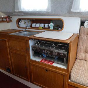 Santana 28 Production Boat